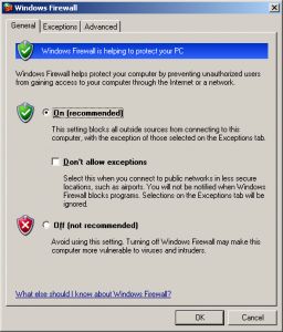 Firewall-Settings-Outlook
