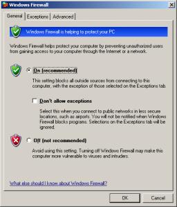Firewall-Settings-Outlook