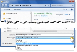 reduce the size of a large PST file