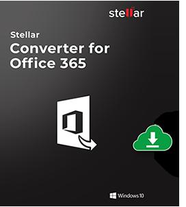 Stellar Converter for Office 365 Box