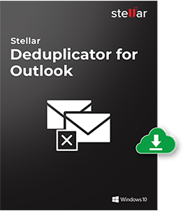 Stellar Deduplicator for Outlook Box