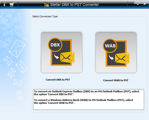 Stellar Converter for DBX screenshot