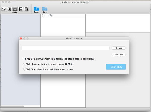 OLM Repair Screenshot