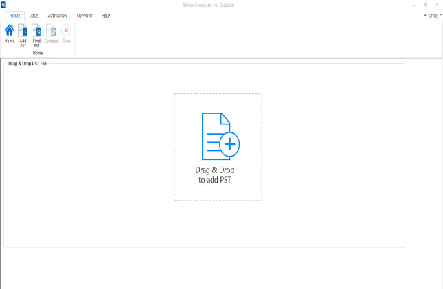 Stellar Toolkit for Outlook screenshot